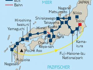 Große Japanrundreise Tokyo – Nagasaki