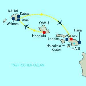 Mietwagen Rundreise Hawaiian Extravaganza