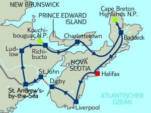 Mietwagen Rundreise Wildlife of Atlantic Canada