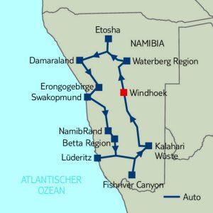 Mietwagen-Rundreise: Zeit für Namibia