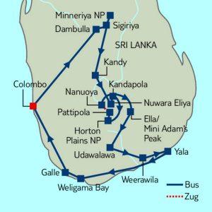 "Minibus-Rundreise ""Abenteuer Sri Lanka"""