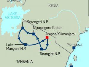 Safari: Best of Tansania mit dem Geländewagen