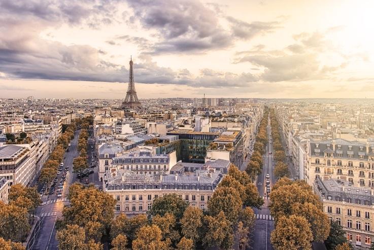 Privatjet Zürich Paris